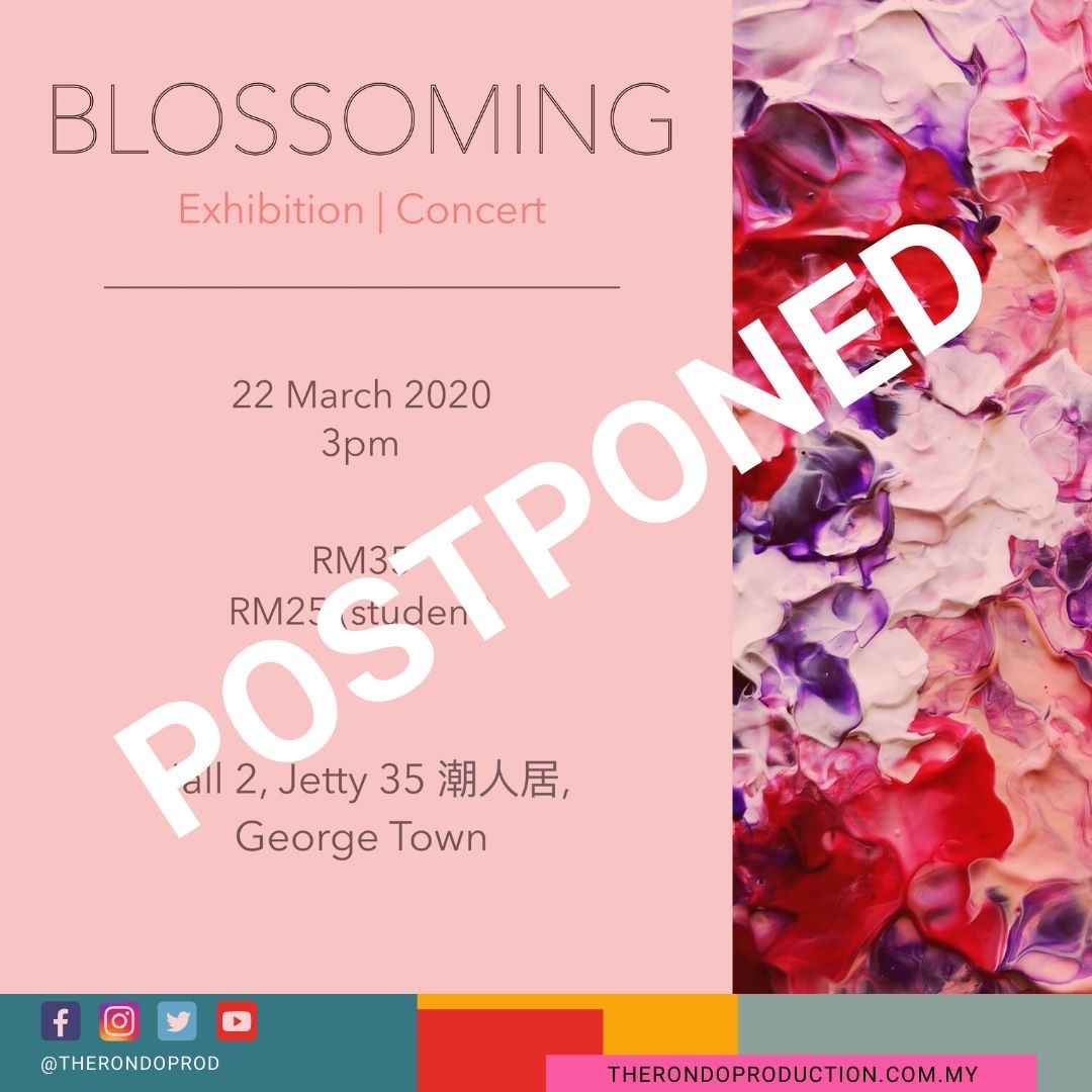 Community Chamber: Blossoming postponed