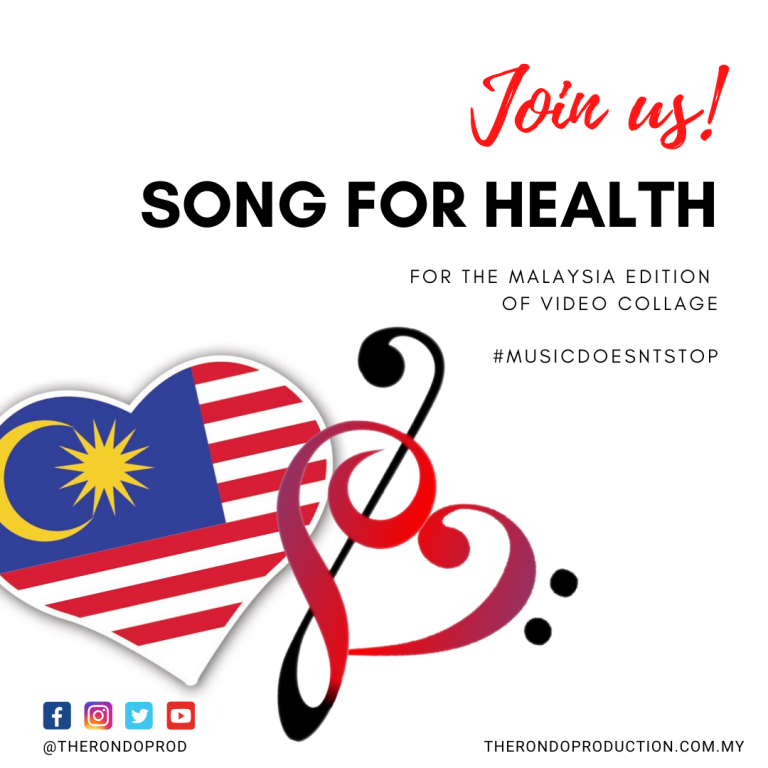 Join us for a Song for Health – Malaysia edition