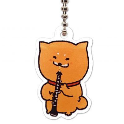 Shiba Inu Raku Keychain (Oboe)
