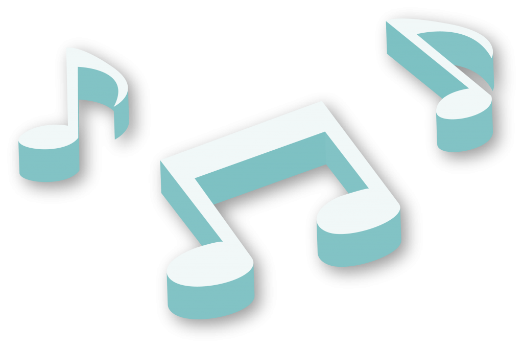 3D-Music-Notes