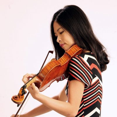 a young Malaysian violinist